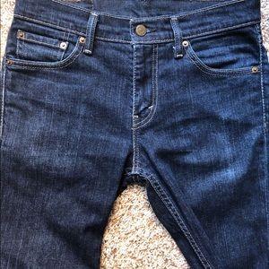 Men's Levi's 511 Slim Fit Jeans Dark Wash 30W 30L